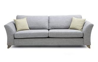 Formal Back 4 Seater Sofa Burlington
