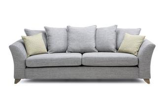 Pillow Back 4 Seater Sofa Burlington
