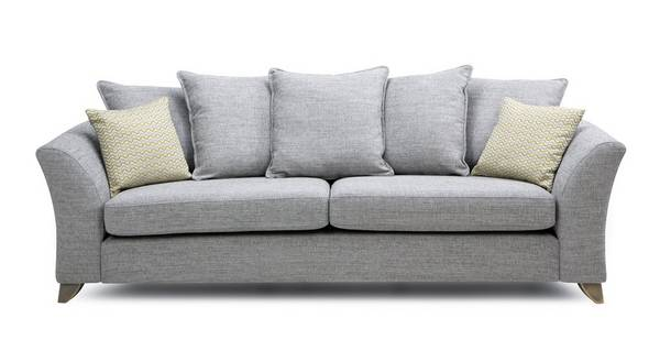 Dovedale Pillow Back 4 Seater Sofa