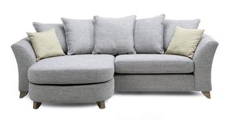 Dovedale Pillow Back 4 Seater Lounger