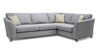 Dovedale Formal Back Left Hand Facing 3 Seater Corner Sofa