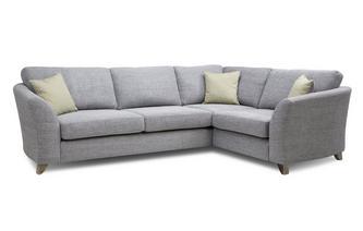 Formal Back Left Hand Facing 3 Seater Corner Sofa Burlington