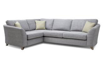 Formal Back Right Hand Facing 3 Seater Corner Sofa Burlington