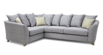 Dovedale Pillow Back Right Hand Facing 3 Seater Corner Sofa