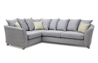 Pillow Back Right Hand Facing 3 Seater Corner Sofa Burlington
