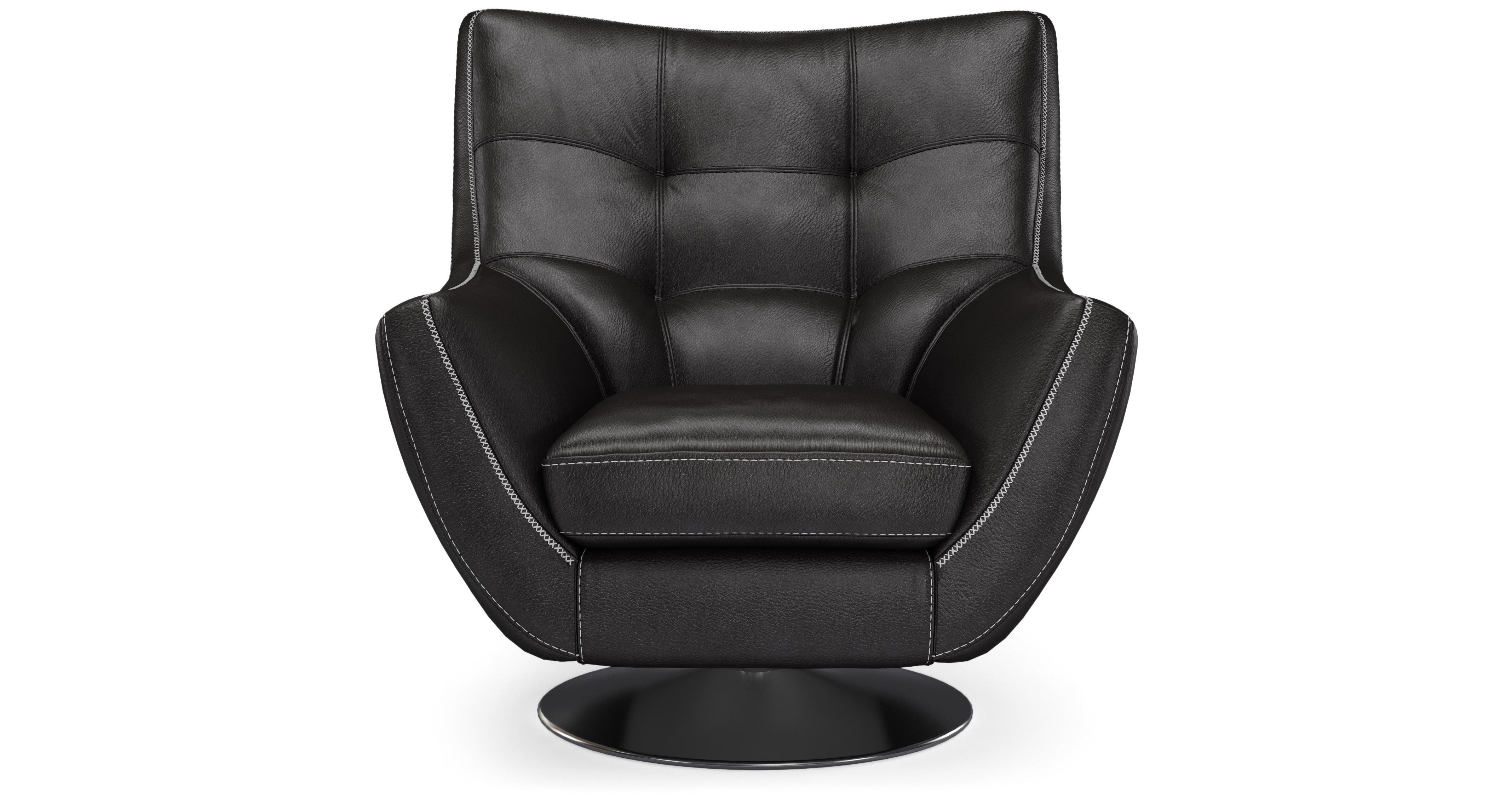 Drama Swivel Chair New Club Contrast