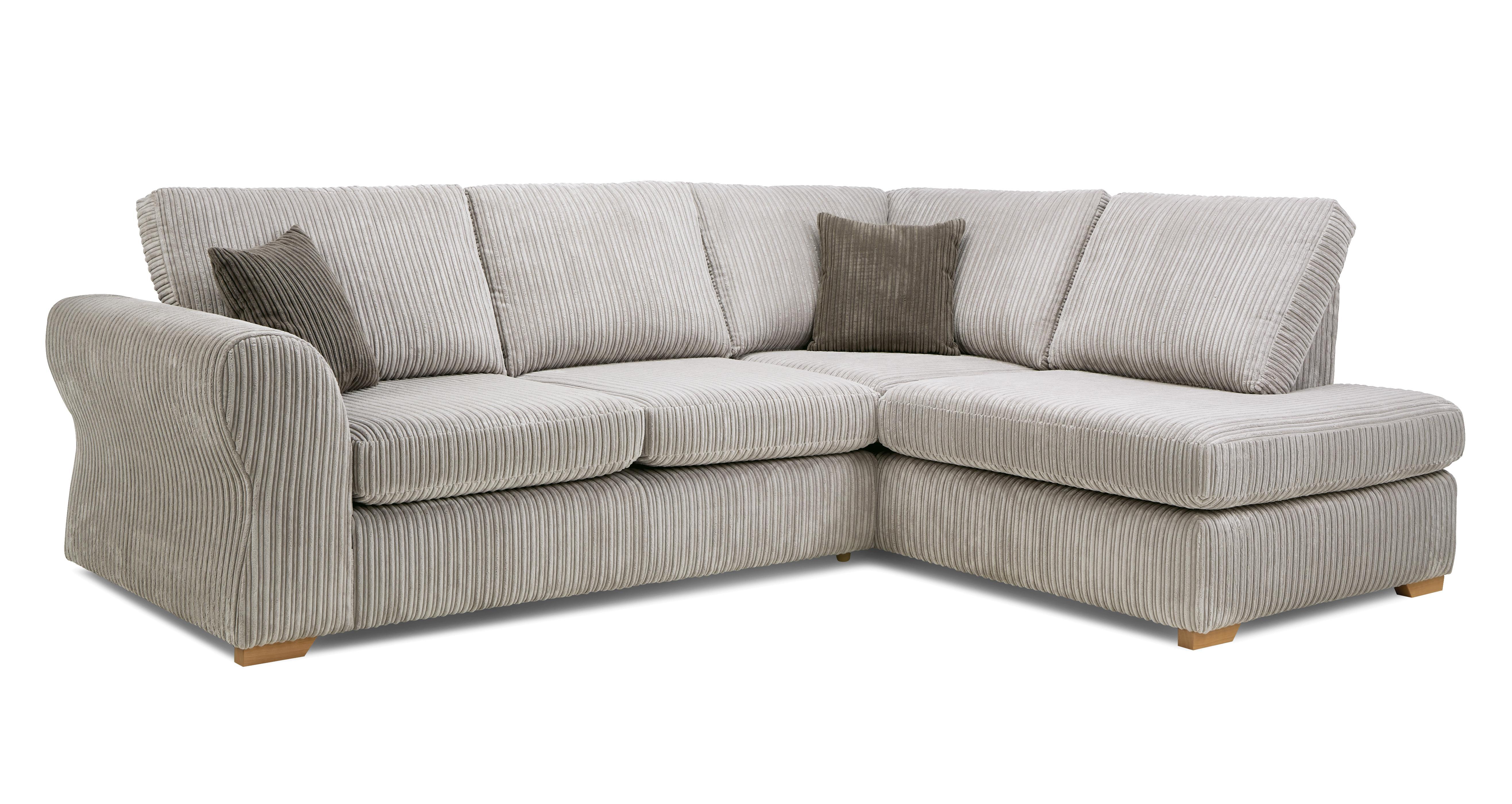Dunsford Left Hand Facing Arm Open End Corner Sofa Marley Dfs