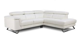 Durini Option A Left Hand Facing Arm 2 Piece Corner Sofa