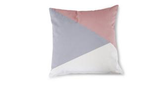 Dusky Geo Scatter Cushion
