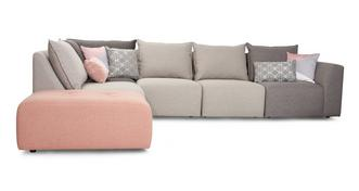 Dusky Right Hand Facing Arm Corner Sofa
