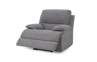 Handbediende recliner stoel Superb