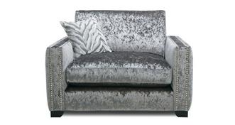 Dynasty Formal Back Cuddler Sofa