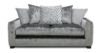Dynasty Pillow Back 3 Seater Sofa
