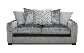 Pillow Back 3 Seater Sofa Dynasty