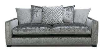 Dynasty Pillow Back 4 Seater Sofa