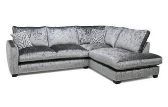 Formal Back Left Hand Facing Arm 3 Seat Corner Sofa Dynasty