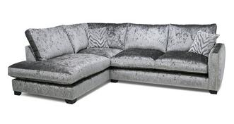 Dynasty Formal Back Right Hand Facing Arm 3 Seat Corner Sofa