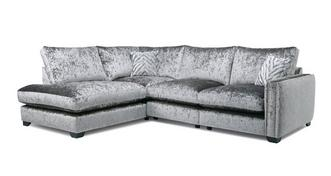 Dynasty Formal Back Right Hand Facing Arm Seat Corner Sofa