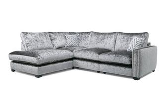 Formal Back Right Hand Facing Arm Seat Corner Sofa