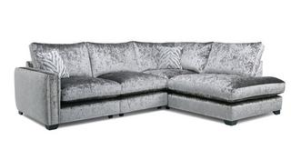 Dynasty Formal Back Left Hand Facing Arm 2 Seat Corner Sofa