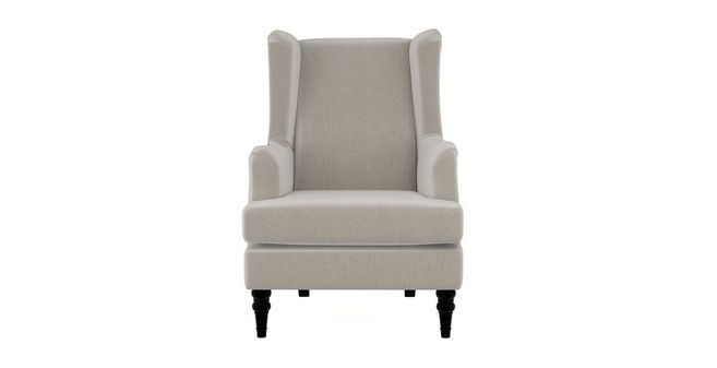 Earle Plain High Back Wing Chair