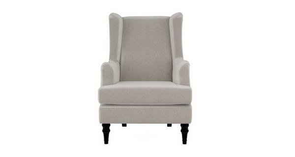 Earle Plain High Back Wing Chair, High Back Wing Sofa