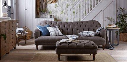 DFS Chalk Sofa