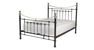 Ebony King Bed Frame