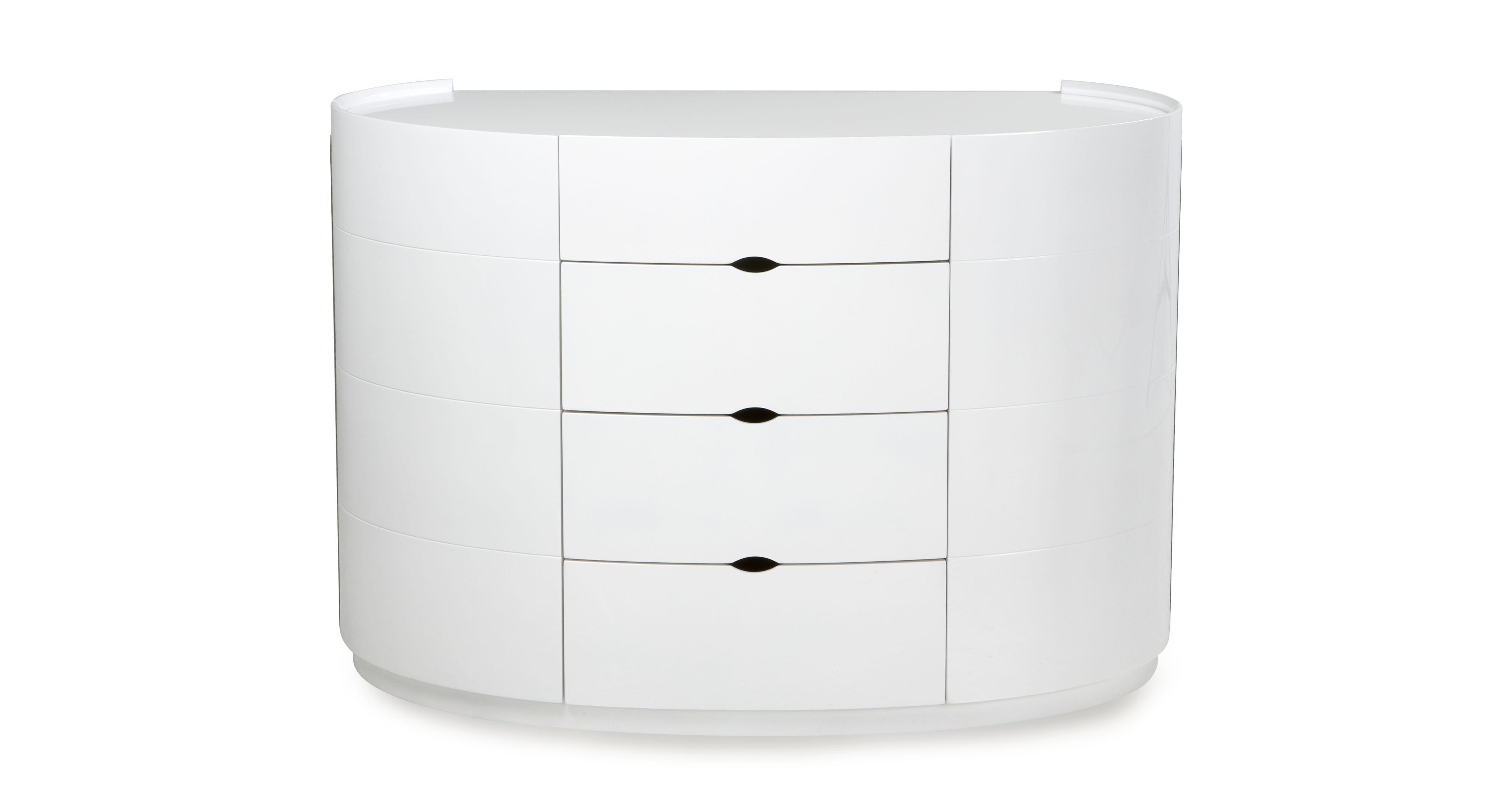 eclipse dresser with 4 drawers eclipse high gloss dfs ireland