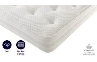 4ft 6 Double Pocket 1200 Mattress Silent Night Mattress