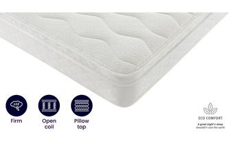 4ft 6 Double Cushion Top Mattress