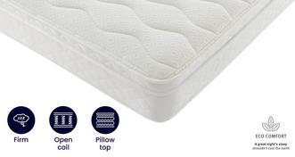 Eco 6ft Super King Cushion Top Mattress