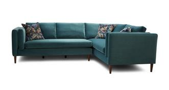 Eden Left Hand Facing Arm 3 Seater Corner Sofa
