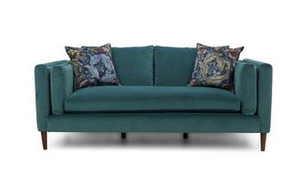 Eden Clearance Medium Sofa Luxe Velvet