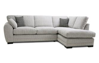 Formal Back Left Hand Facing Arm Open End Corner Sofa