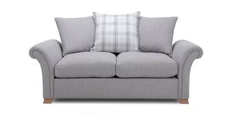Edwin 2 Seater Pillow Back Sofa