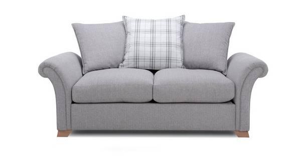 Edwin 2 Seater Pillow Back Sofa