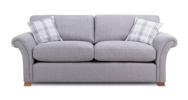 Edwin 3 Seater Formal Back Sofa