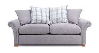 Edwin 3 Seater Pillow Back Sofa