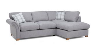 Edwin Left Hand Facing Formal Back Corner Sofa