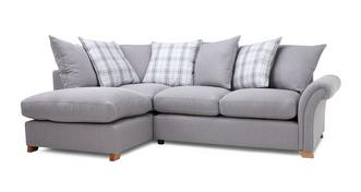 Edwin Right Hand Facing Pillow Back Corner Sofa