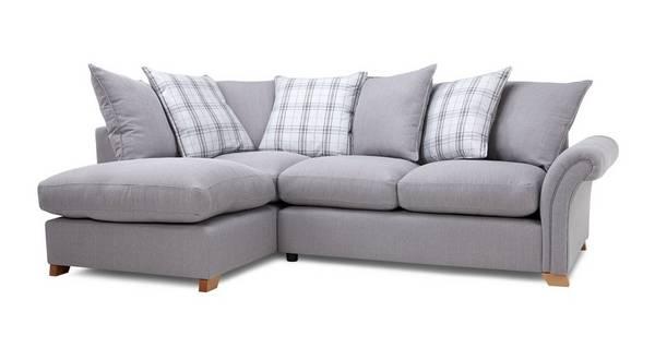 Edwin Right Hand Facing Pillow Back Corner Sofa