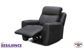 Fabric Power Recliner Chair with Headrest