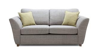 Elban Large 2 Seater Formal Back Sofa Bed