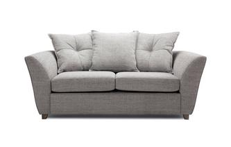 Large 2 Seater Pillow Back Sofa Bed Elban