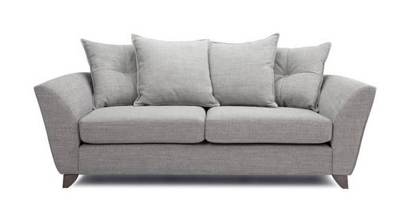 Elban 3 Seater Pillow Back Sofa