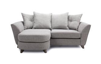 3 Seater Pillow Back Lounger Elban