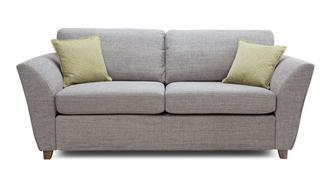 Elban 3 Seater Formal Back Sofa Bed