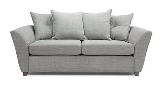 Elban 3 Seater Pillow Back Sofa Bed
