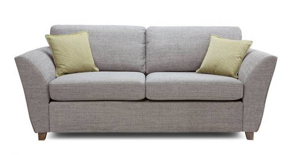 Elban 3 Seater Formal Back Deluxe Sofa Bed